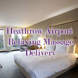 Heathrow mobile massage