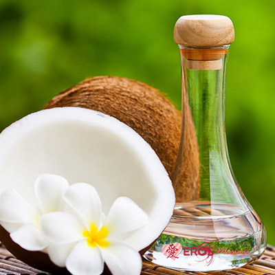 coconut oil in Thai massage